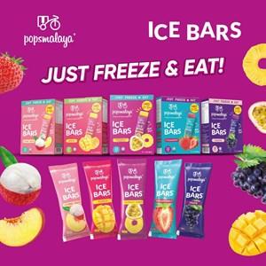 PopsMalaya Ice Bar - Boleh pos, bekukan sendiri dirumah, DESSERT sihat ANYTIME!