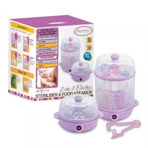 Autumnz - 2-in-1 Electric Steriliser & Food Steamer - Lilac
