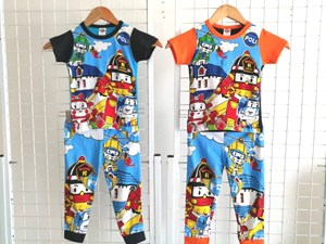 Pyjamas Robocar Poli (Brand HRZ) : Kids Size 2/3 hingga 8/9