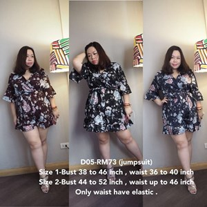 D05 Ready Stock *Bust 38-52 inch
