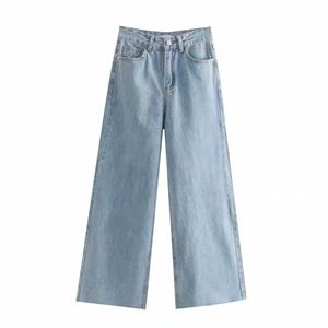 HIGH WAISTED WIDE LEGS JEANS
