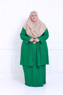 Kebaya Khadeejah - Green