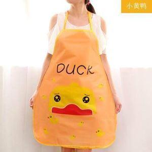 @  Korean Style Cute Cartoon Princess Aprons ( DUCK )