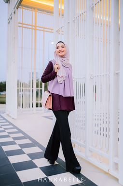 HANA BLOUSE-DARK PURPLE