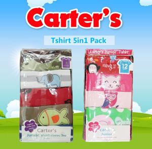 Carter Tshirt 5in1 Pack