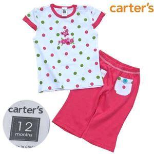 CARTERS PINK 2 PCS SET