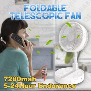 FOLDABLE TELESCOPIC FAN