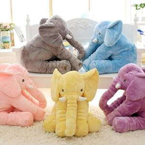 Elephant Soft Pillow without Blanket