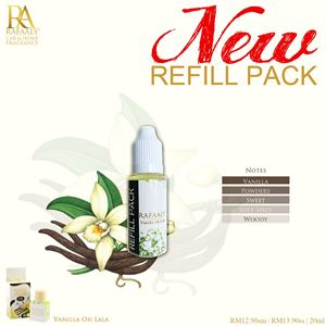 REFILL PACK 20ml - Vanilla Oh La La