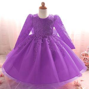 Gown Long Sleeve PURPLE