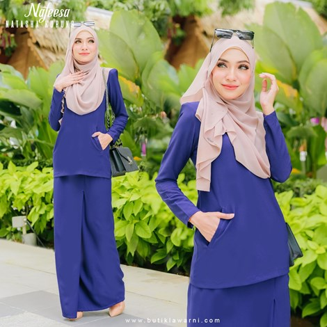 NATASHA KURUNG ROYAL BLUE
