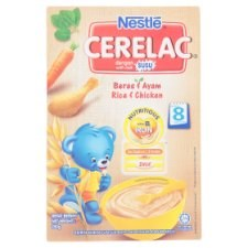 Nestlé Cerelac Rice & Chicken Infant Cereal with Milk From 8 Months 250g