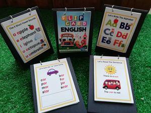 KB07 - FLIP CARD ENGLISH 1 PANEL