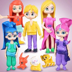 Shimmer & Shine Figurine (8 pieces)