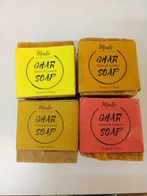 Sabun ghar / Aleppo soap (buy 2 soap free 1 tin)