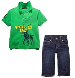 Polo Green Set