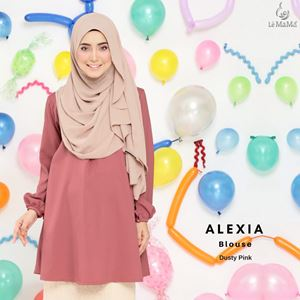 Alexia Blouse : Dusty Pink