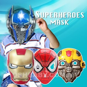 SUPER HEROES MASK WITH LIGHT
