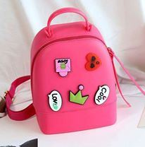 Jelly Backpack - All Dark Pink