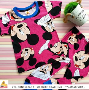 PYJAMAS SEDONDON MICKEY PINK