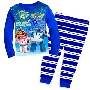 Pyjamas Set - Robocar Poli Here We Go