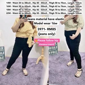 3971   *Waist 34 to 48 inch/ 87-121cm