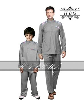 HAPPYkids 2017 Songket Exclusive MAN ( GREY )