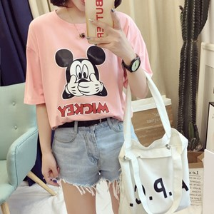 @  MICKEY TEE - DESIGN 2 ( M - 2XL )  PINK