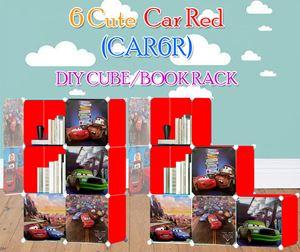 CARS RED 6C DIY WARDROBE (CAR6R)