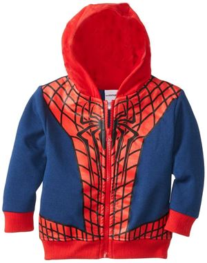 @  H222-C  SPIDERMAN JACKET ( SZ 80-90 )