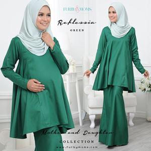 Reflessia Kurung - Green