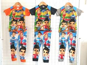 Pyjamas OMAR HANA (Brand HRZ) : Kids Size 2/3 hingga 8/9