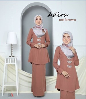 KURUNG RIAU ADIRA NUT BROWN