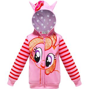 Little Pony Jacket -PINK  ( SZ 100-150 )