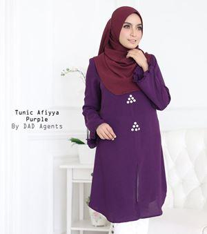Tunic Afiyya Purple