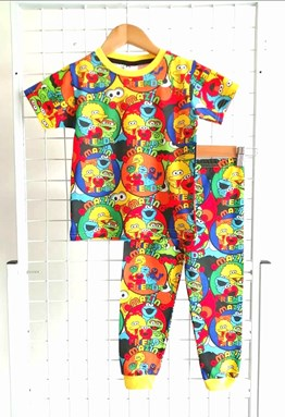 Pyjamas SESAME STREET AMAZING FRIENDS :  Big Size 12 (MYSHA)