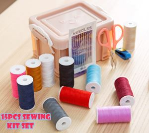 15PCS SEWING KIT SET