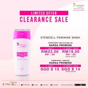 CLEARANCE SALE! NURRAYSA Stemcell Feminine Wash
