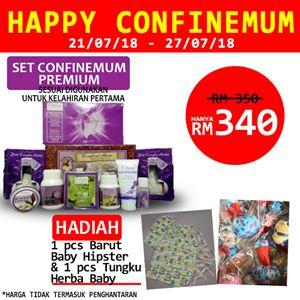 HAPPY CONFINEMUM  PREMIUM 21/07/18-27/07/2018