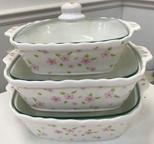 CASSEROLES SET SAKURA