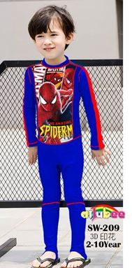 @  SW209   SUPERMAN SWIMSUIT