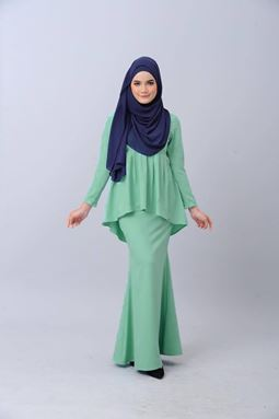 LESSA KURUNG - MINT GREEN