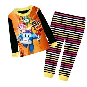 Pyjamas Set - Robocar Poli Black