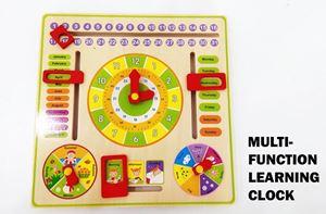 MULTIFUNCTION LEARNING CLOCK