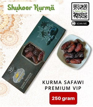 Kurma SAFAWI PREMIUM VIP-250 gram