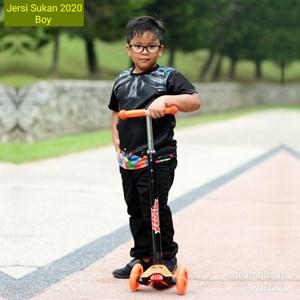 Jersi Sukan 2020 - BOY,  XS - XL