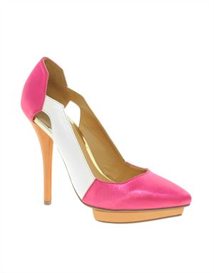 PROUD Pointed Platforms with Colour Block
