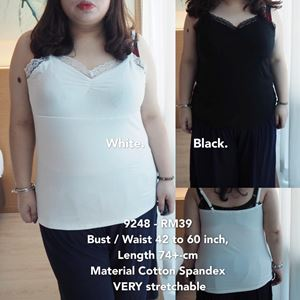 9248 Ready Stock  *Bust/Waist 42 to 60 inch / 107-152cm