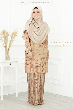 KURUNG SURIA PLEATED IN LONGAN