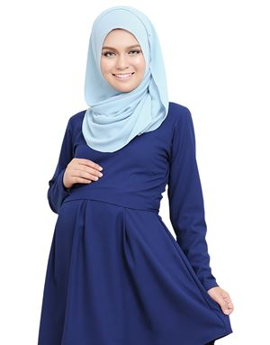 Alarra Blouse - Dark Blue